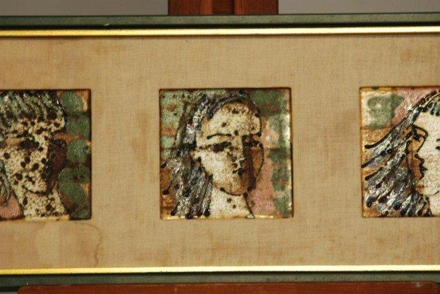 279: MID-CENTURY MODERN HARRIS G. STRONG ART WORK - 3