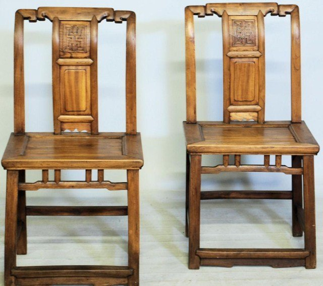 10: PR.ANTIQUE CHINESE MANDERIN STYLE HARDWOOD CHAIR