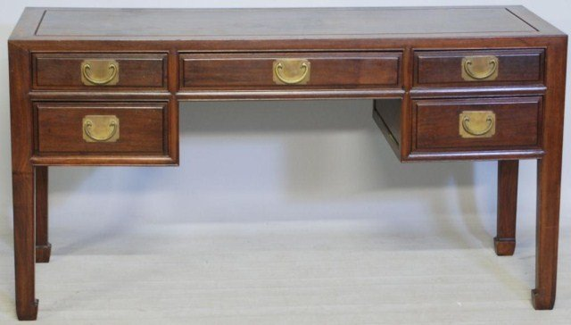 12: ANTIQUE CHINESE HARDWOOD ALTAR TABLE