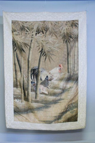 23: ANTIQUE CHINESE TAPESTRY