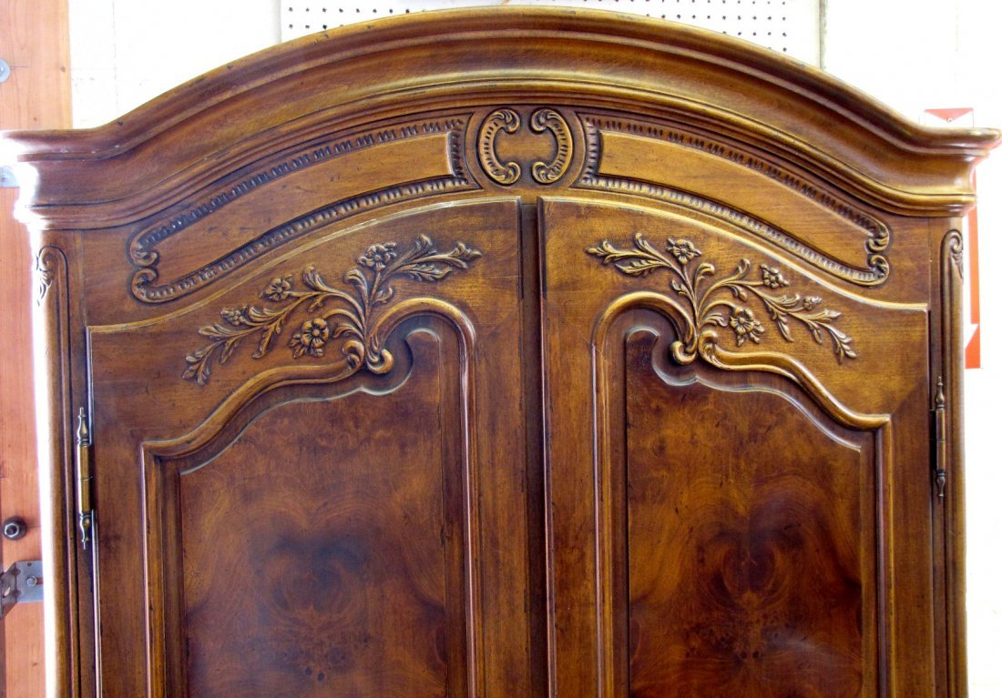 345A: HENREDON COUNTRY FRENCH ARMOIRE - 2