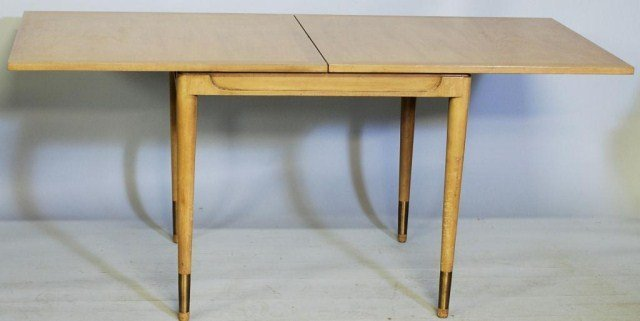 556: MID CENTURY MODERN GAME TABLE ATTR. DUNBAR FURN.CO - 3