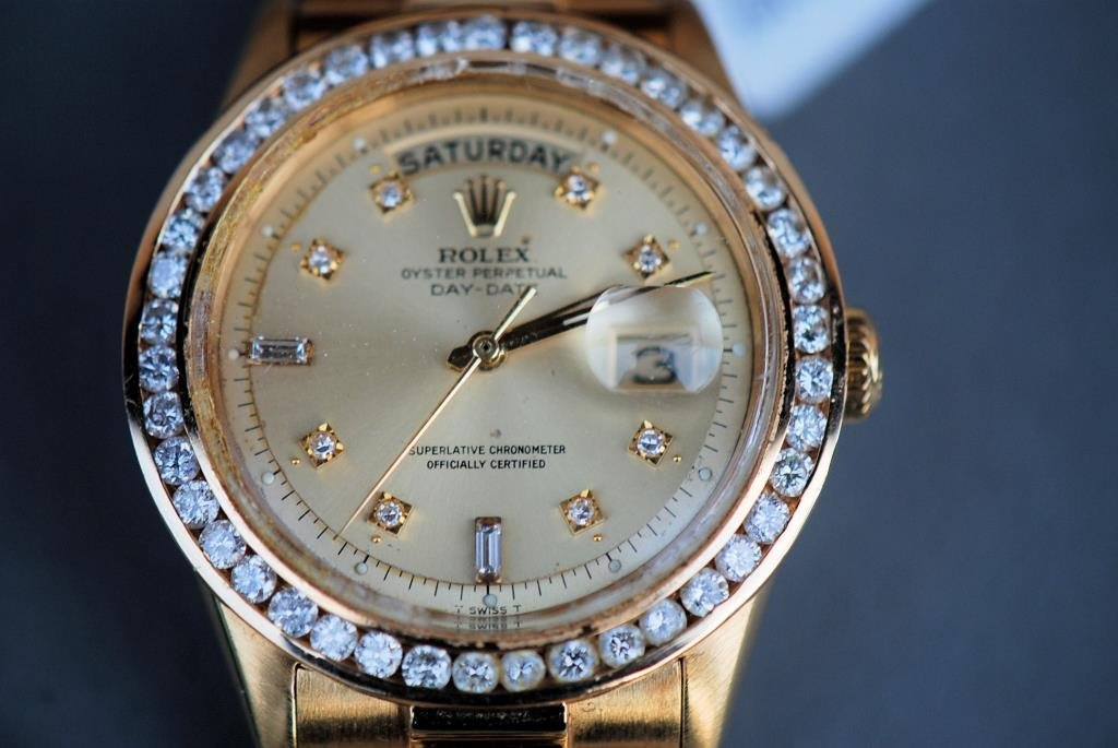 Rolex 18kt Gold and Diamonds Presidential