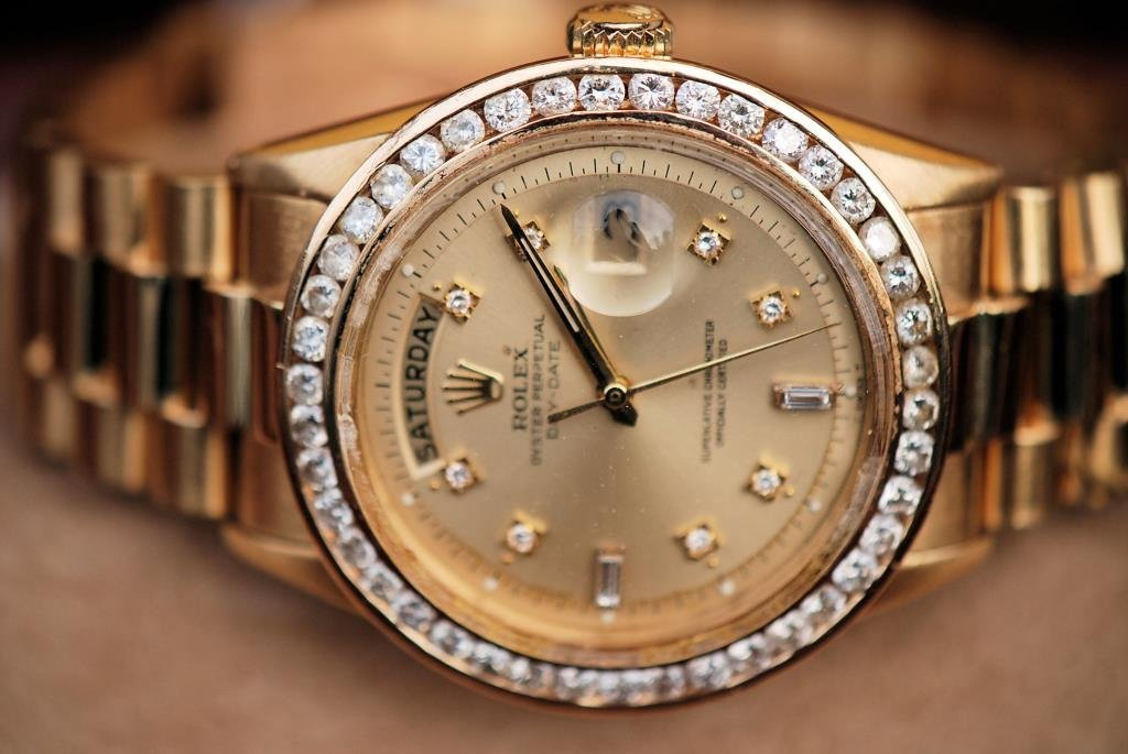 Rolex 18kt Gold and Diamonds Presidential - 2