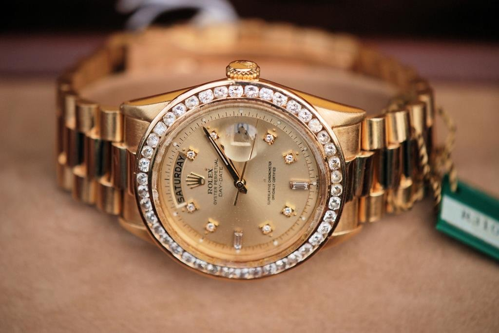 Rolex 18kt Gold and Diamonds Presidential - 3