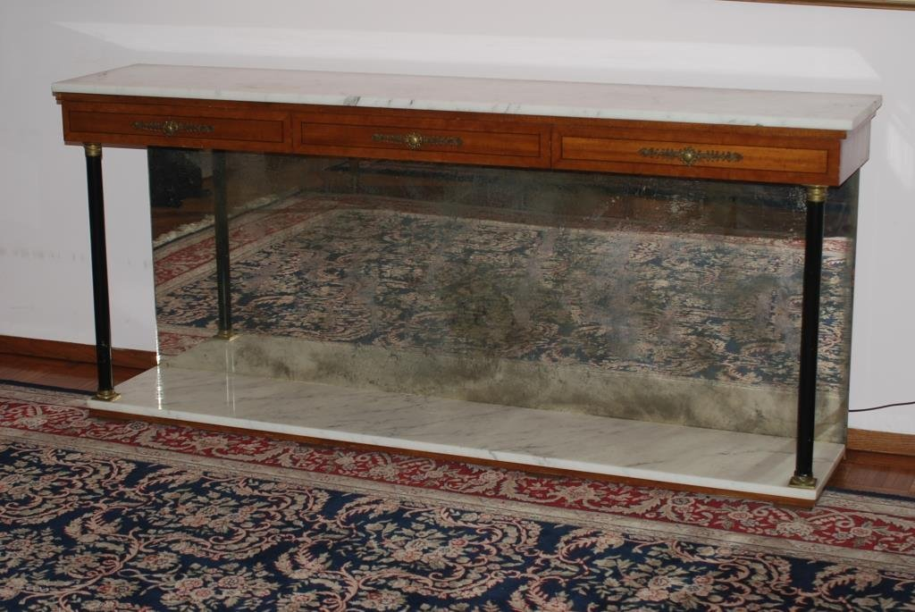 NEO-CLASSICAL STYLE PIER TABLE