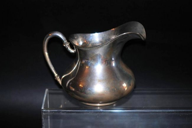Continental Silver Pitcher