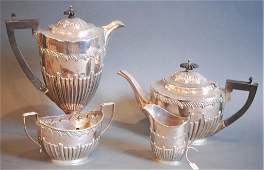4 Piece S.S. English Tea Set