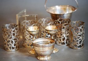 Lot Of 10 Assorted Pieces S.s. Tableware