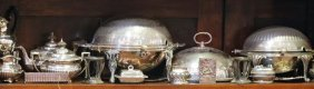 Lot Of 18 Pcs Victorian & Other Silver Plate