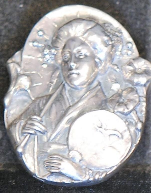 Henryk Winograd Attd Signed S.S. Pendant