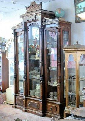 American Victorian Renaissance Revival Bookcase