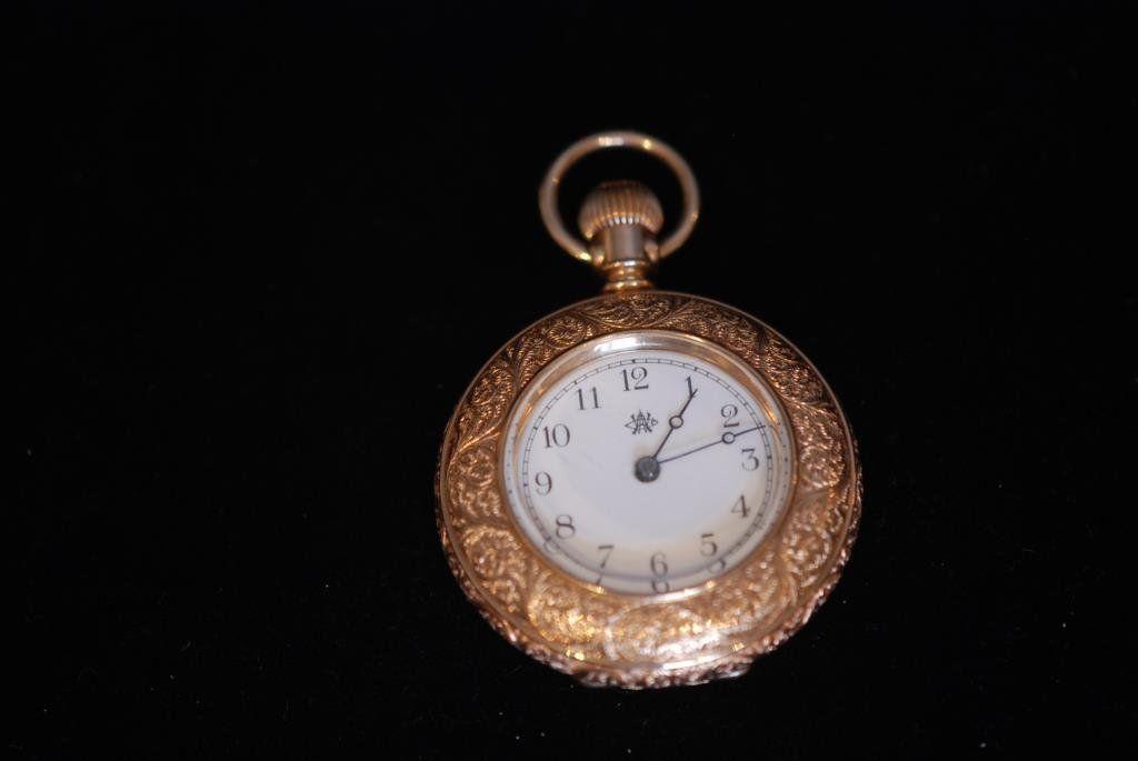 Antique Open Face Ladies Pocket Watch