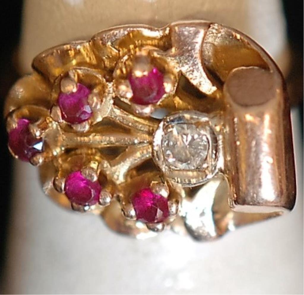 Vintage 1940's 14k Ladies Ring