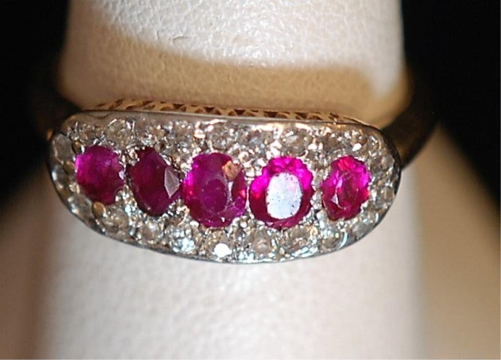 Vintage 14k Gold Ladies Ring