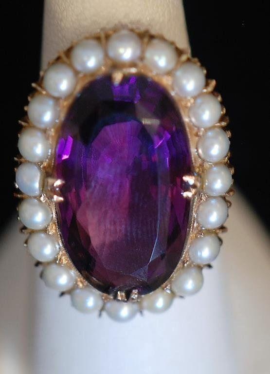 Vintage Antique Style 14k Ladies Ring
