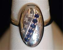 Antique Platinum Ladies Ring