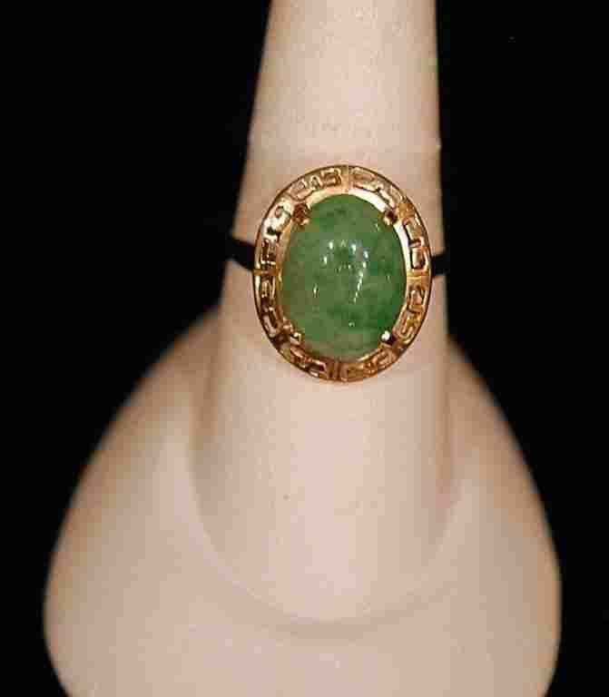 Vintage European 14k Ladies Ring