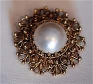 Vintage 14K Ladies Pin