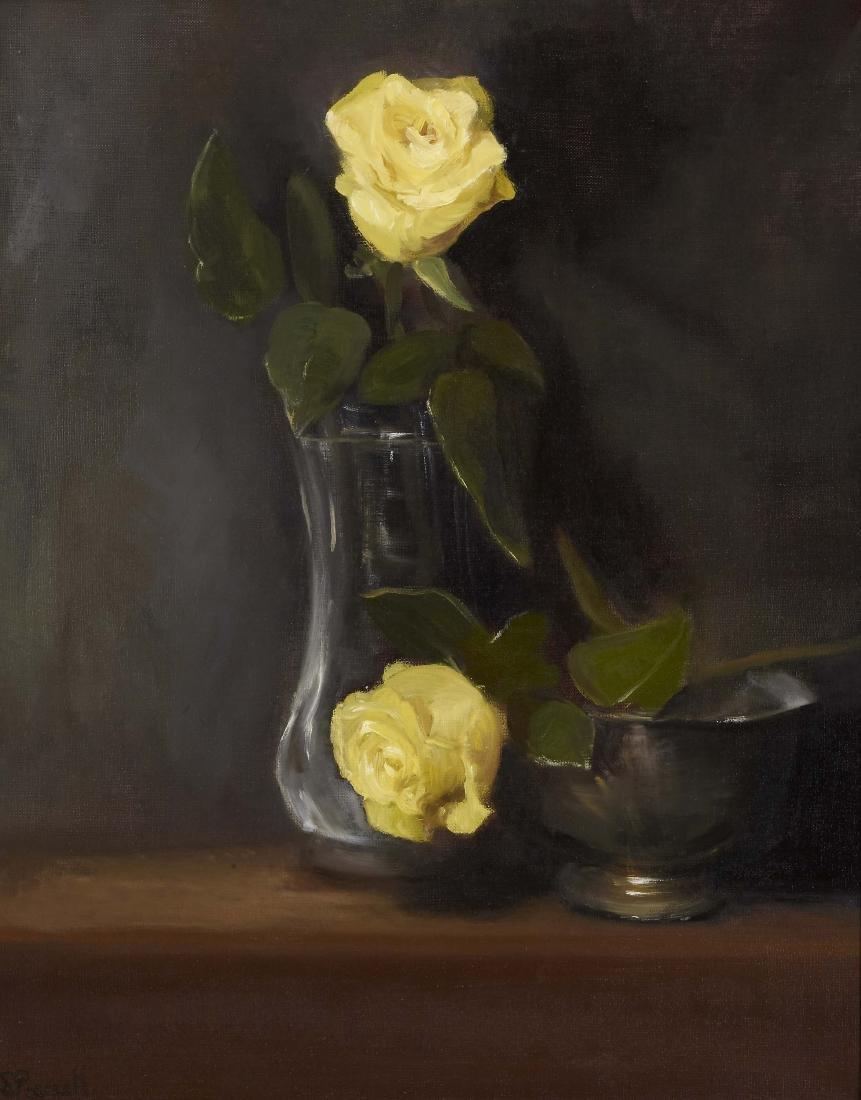 """Yellow Roses"", Sharon Pearsall"