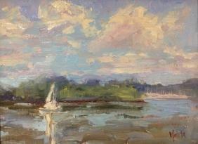 """""""White Sail"""", Lynn Mehta"""