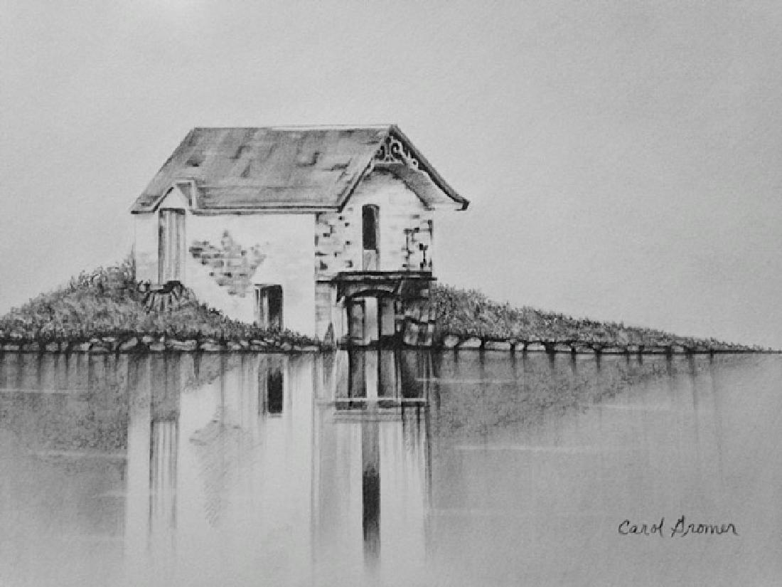 """Boat House"", Carol Gromer"