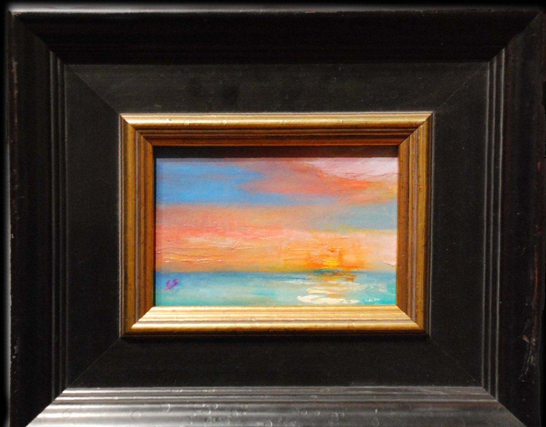 """""""Battery Park Sunset"""", Elizabeth Spencer - 2"""