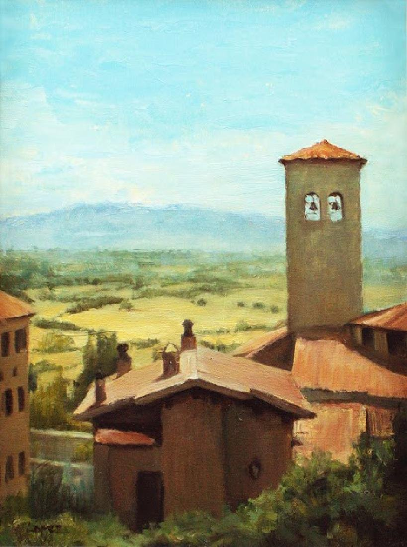 """""""View from an Assisi Window"""", Leah Lopez"""