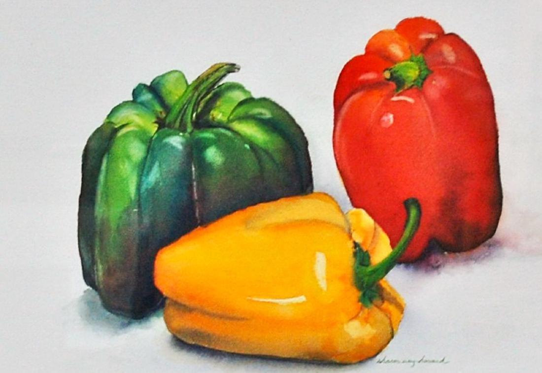 """3 Peppers"", Sharon Way-Howard"