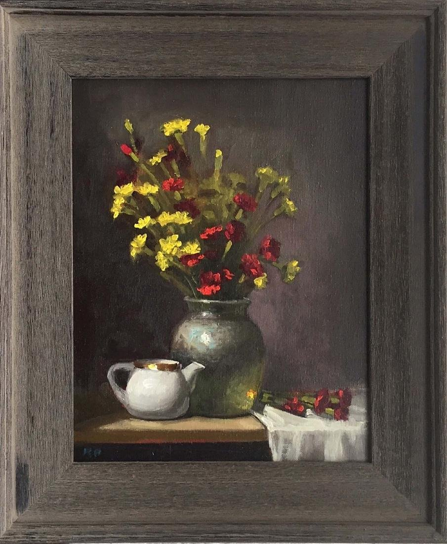 """""""Red and Yellow Carnations"""", Rick Perez"""