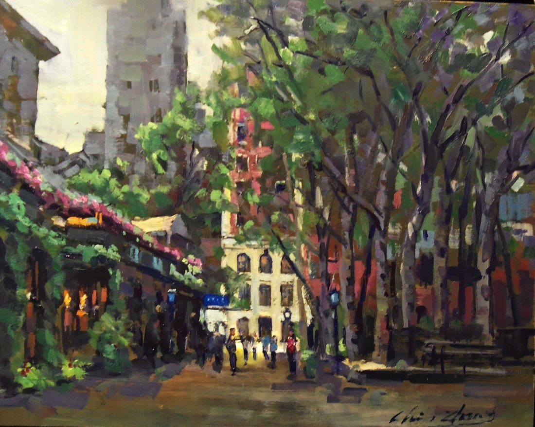 """""""Bryant Park"""", Christopher Zhang"""