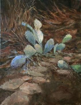 """Winter Prickly Pear"", Pamela Reese"