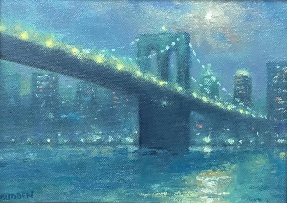 """Moonlight Brooklyn Bridge"", Michael Budden"