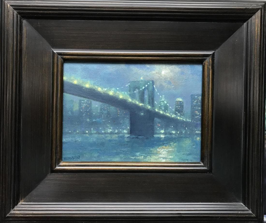 """Moonlight Brooklyn Bridge"", Michael Budden - 2"