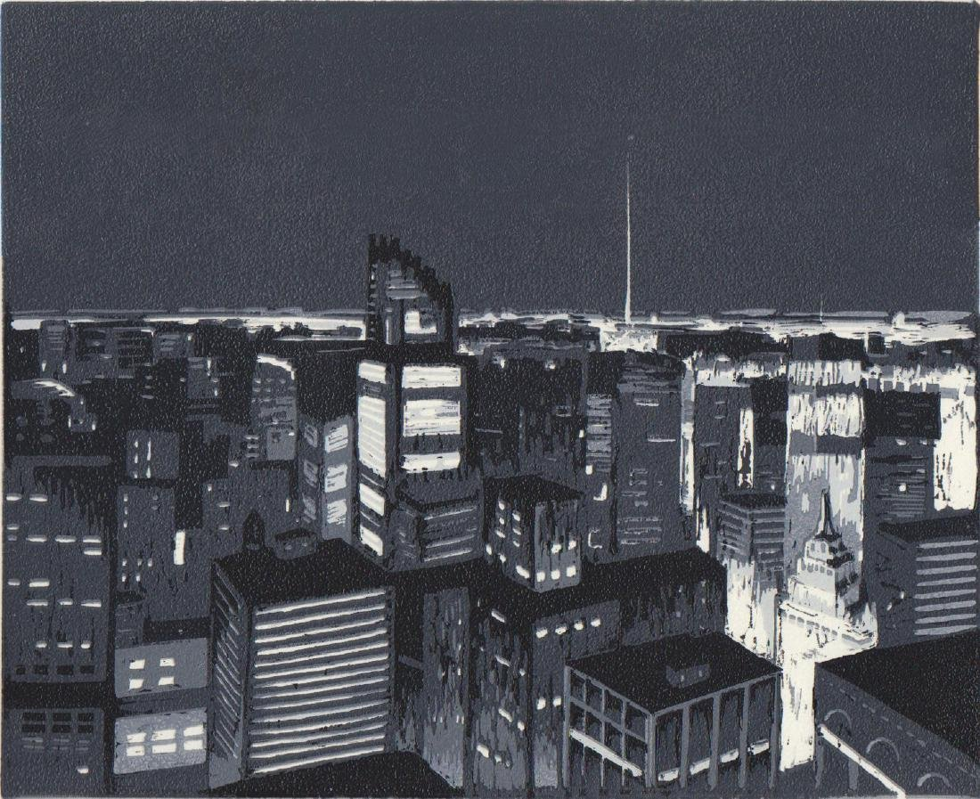 """""""New York City Nocturne"""", Annie Patt - 2"""