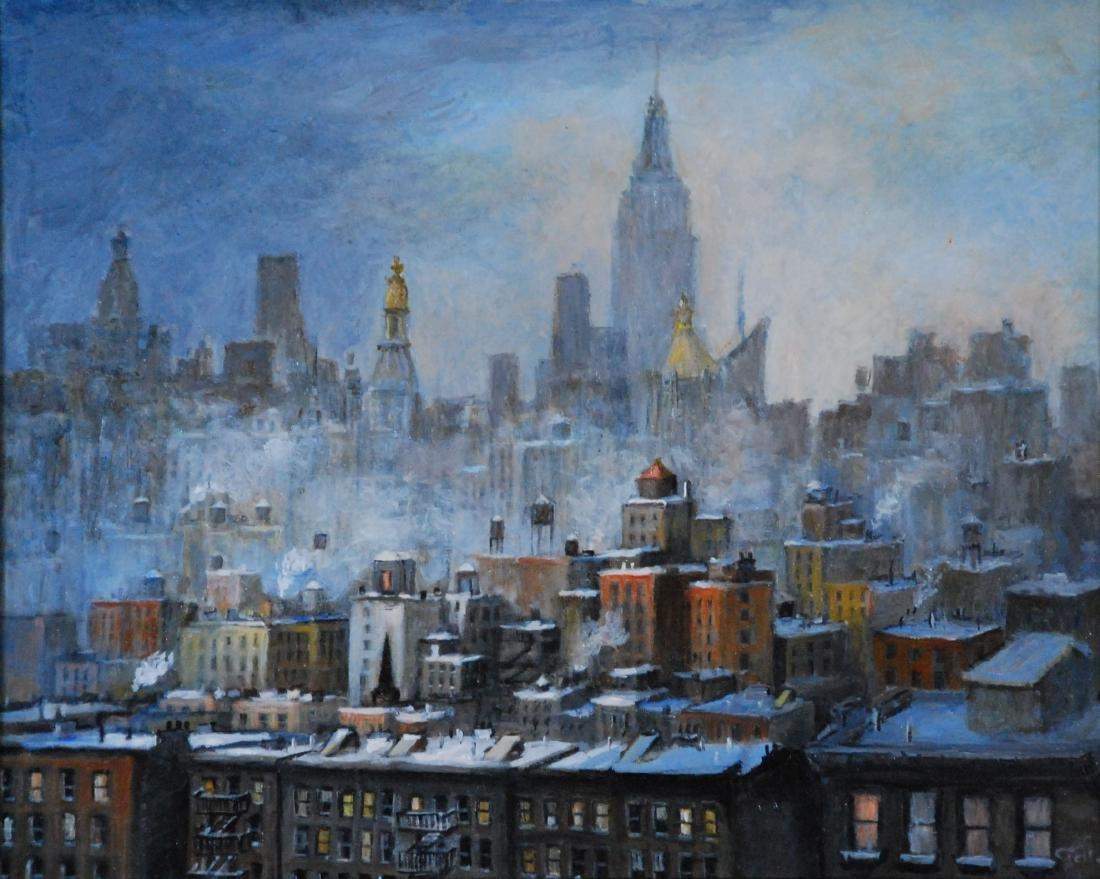"""Looking Uptown"", Carole Teller"