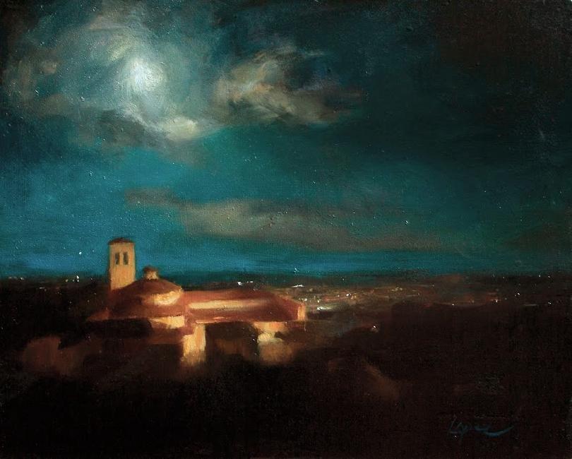 """""""Assisi Nocturne"""", Leah Lopez"""