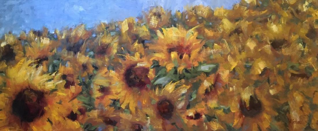 """Sunflower Fields"", Rosanne Cerbo"