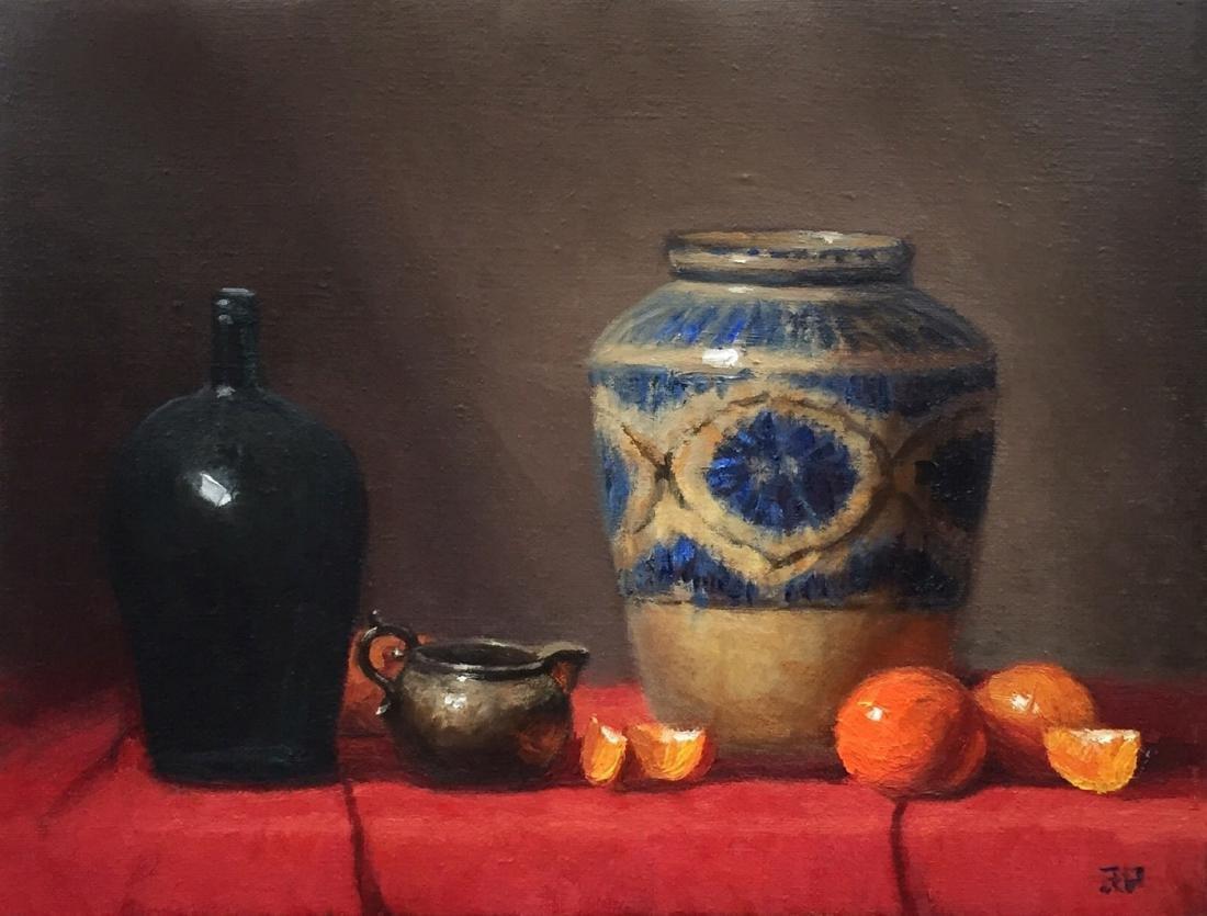 """Persian Vase and Oranges"", Rick Perez"