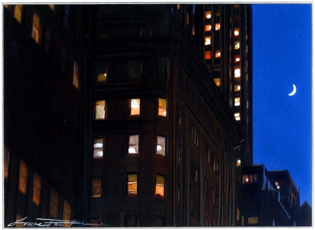 """Moonlight in Midtown"", Laura Fantini"