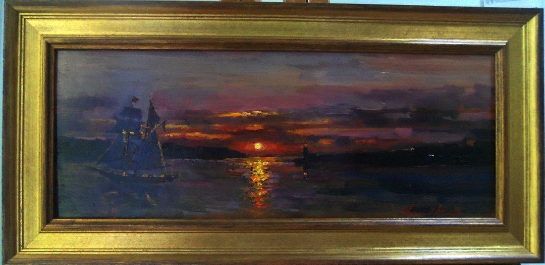 """Sea Sunset"", Christopher Zhang - 2"