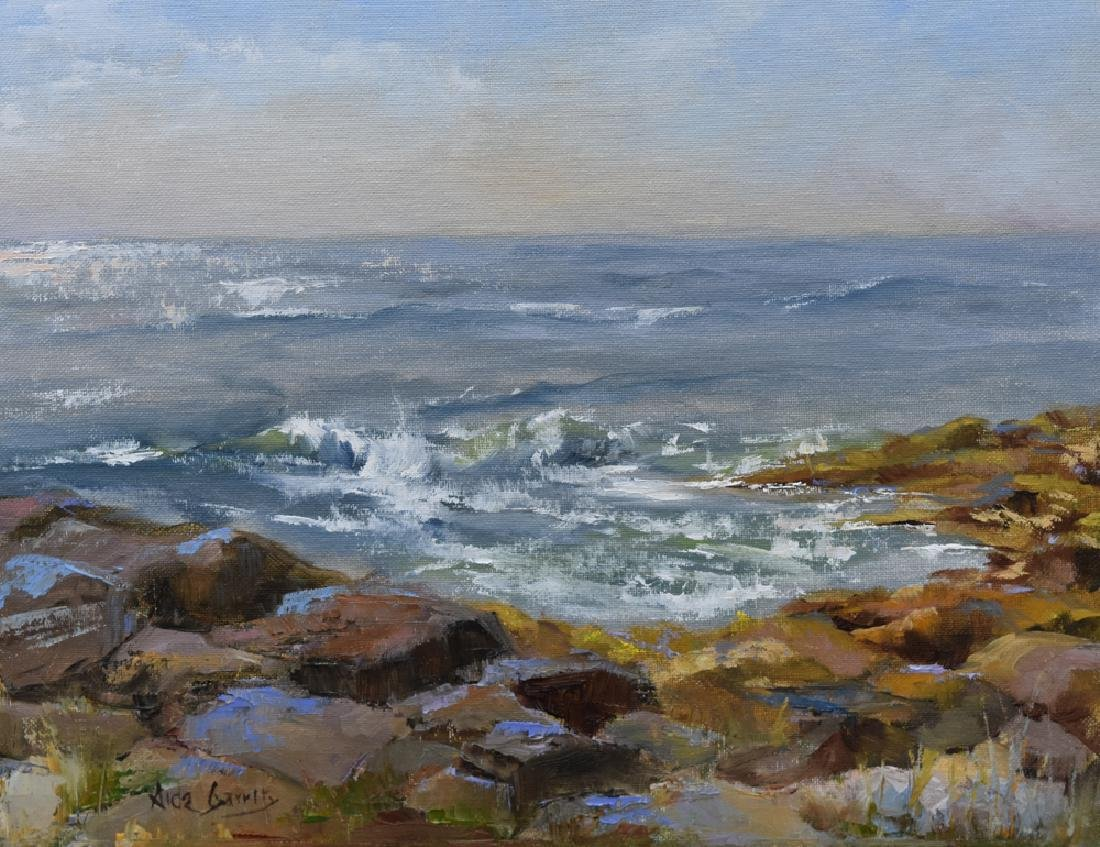 """Rocks and Waves"", Aida Garrity"