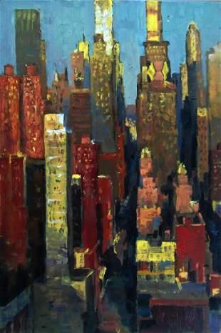 """Manhattan Afternoon"", Christopher Zhang"