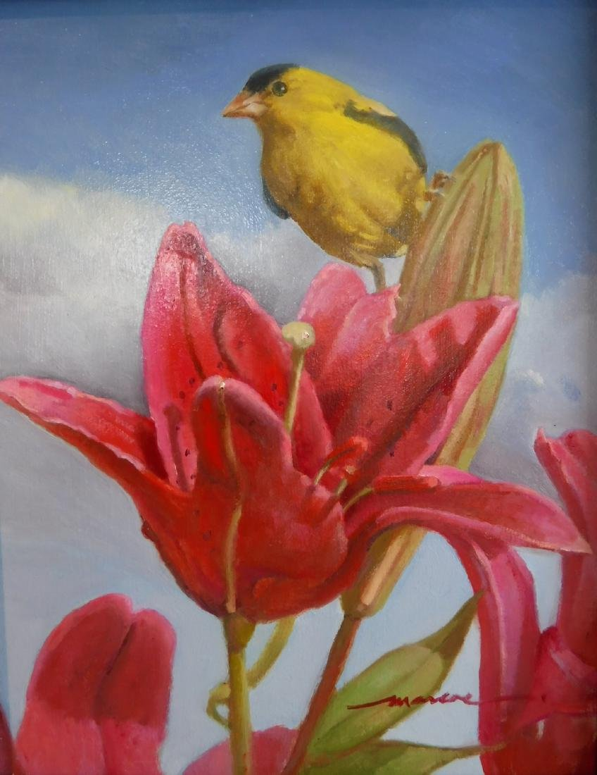 """guilded lily"", Arlene Marcoe"