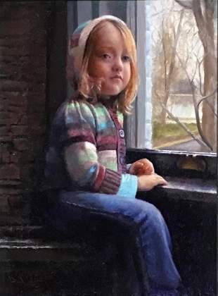 """""""Girl in Sweater"""", David Terry"""