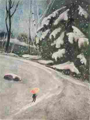 """Peaceful Walk"", Ed Brennan"