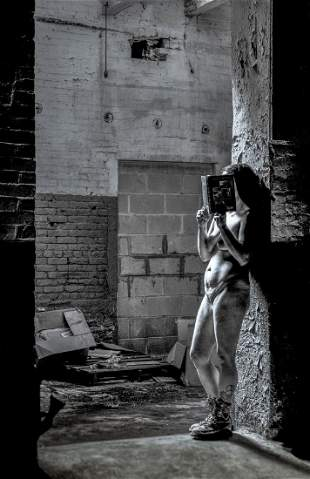 """A Solitary Read"", Lou Zucchi"