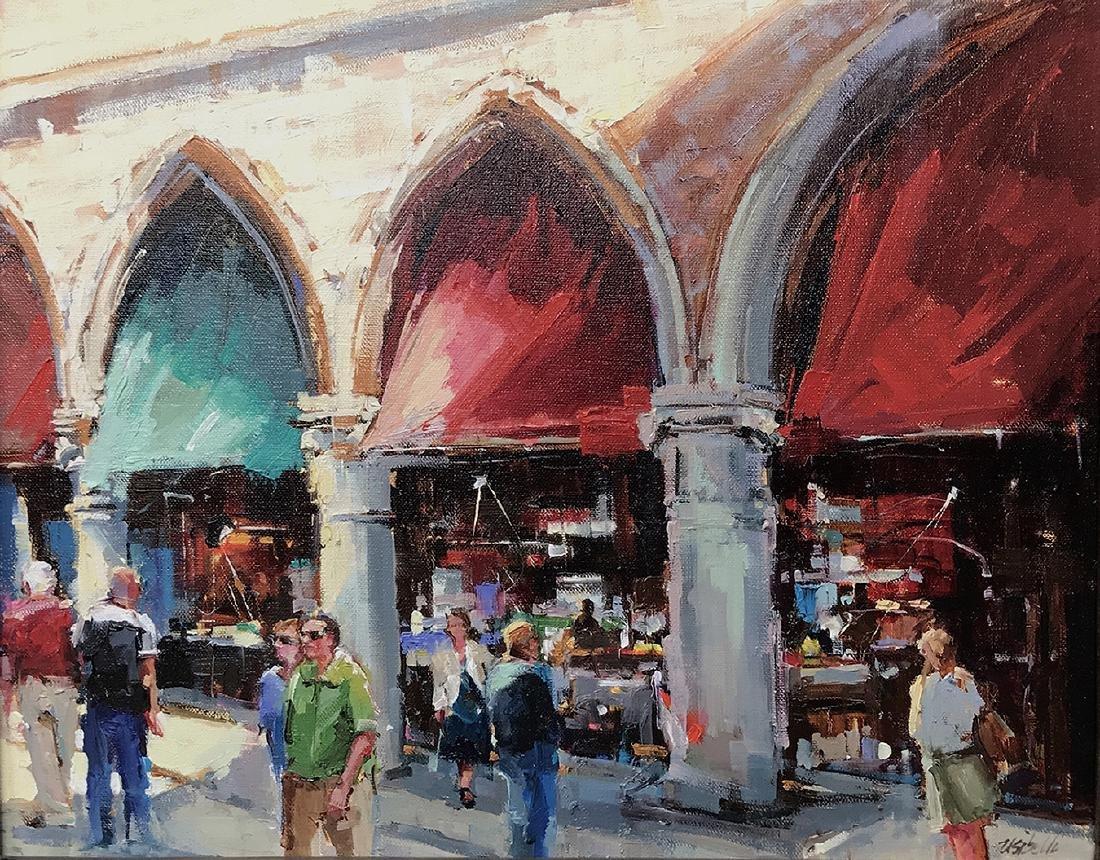 """The Market"", Michele Usibelli"