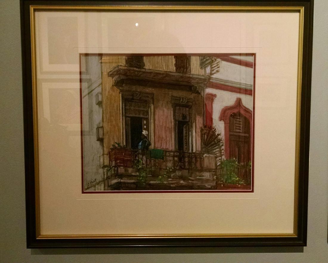 """""""Cuba, Havana Windows  plain air"""", Claudia Post - 2"""