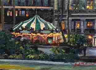 """Le Carousel"", Jacqueline Jones"